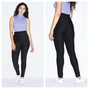 American Apparel High Rise Skinny Riding Pants